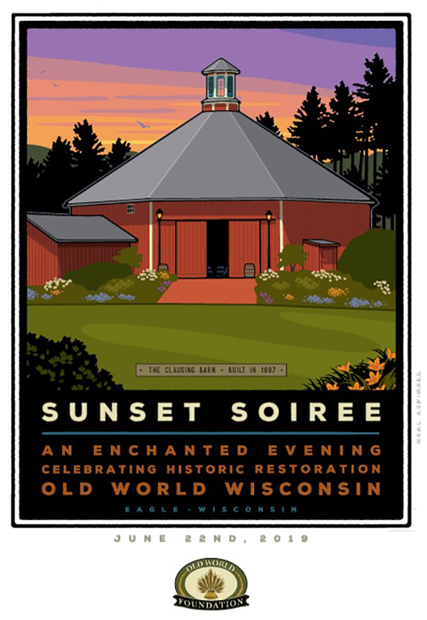 Sunset Soiree Poster created by Neal Aspinall